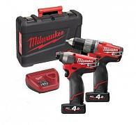 Набор Milwaukee M12 PP2A-402C