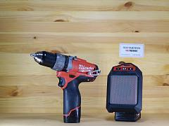 Набор Шуруповерт + Колонка Milwaukee M12 SET2J-421C