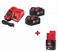 Энергокомплект Milwaukee M18 NRG-502