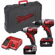 Набор Milwaukee M18 BPP2D-402C