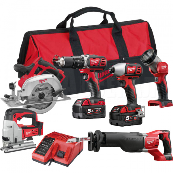 Набор Milwaukee M18 PP6D-502B