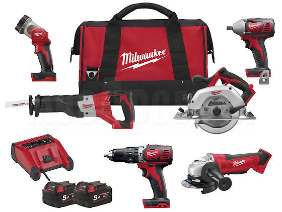 Набор Milwaukee M18 PP6B-502B - 1
