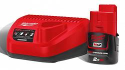 Энергокомплект Milwaukee M12 NRG-201